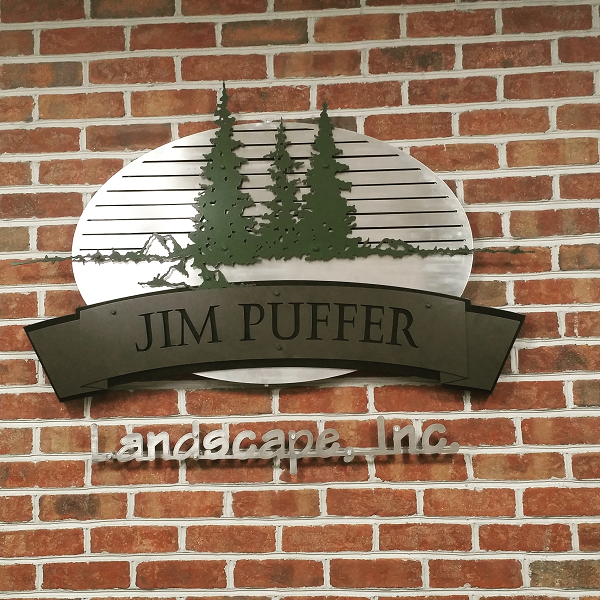 Landscaping-sign